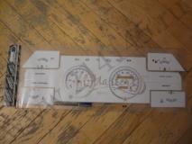 Накладка на приборную панель (новая, белая), RAR 180